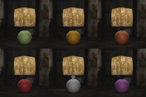 Kerámia gömbök, piros,lila,sárga,fehér,narancssárga,zöld